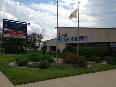 1250-AM will broadcast from A-M Church Supply, at 3535 Bay in Saginaw Township.