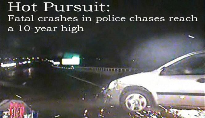 9 videos highlight dangers of Michigan high-speed pursuits
