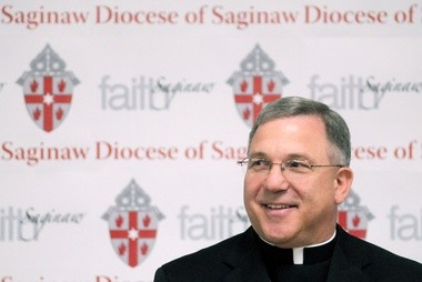 Joseph R. Cistone, Bishop of the Diocese of Saginaw