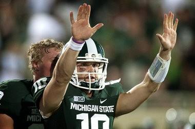 Michigan State quarterback Andrew Maxwell