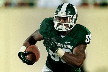 Dion Sims upset coach Mark Dantonio by leaving school early, but did it for his young daughter and because he believes he's already the best tight end prospect.