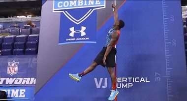 Le'Veon Bell's performance at the 2013 NFL combine has the running back's draft stock on the rise
