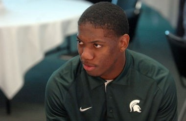 Michigan State unanimous All-American cornerback Darqueze Dennard has pulled out of the Reese's Senior Bowl all-star game, according to the rosters listed on the event's official website.