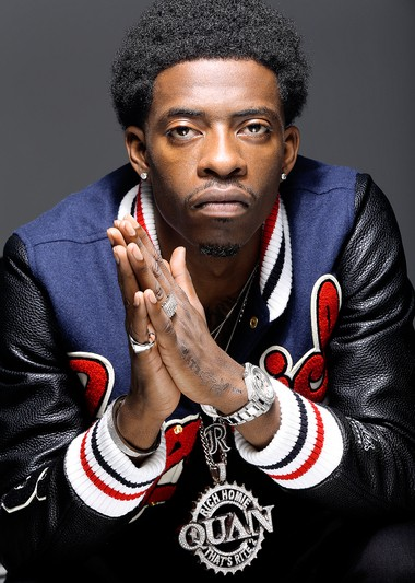 """Rapper Rich Homie Quan is the artist beyond the """"Type of Way"""" song that has served as Michigan State football's anthem this season."""