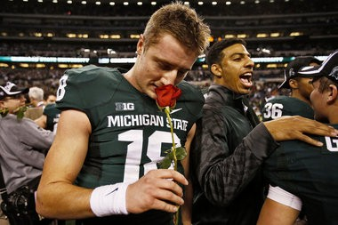 QB Connor Cook is one of the Spartans' 10 projected starters from Ohio.