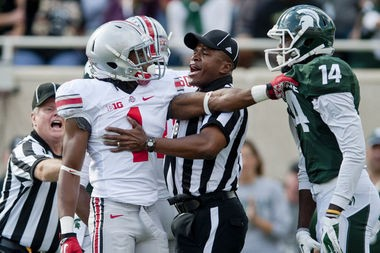 The Buckeyes got the better of the Spartans when the teams met in 2012, winning 17-16 in a contested affair in Spartan Stadium.