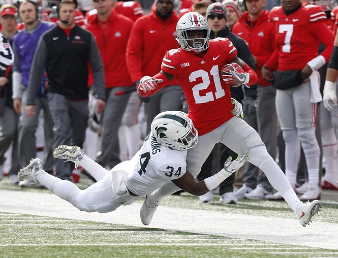 Michigan State true freshman tracker: LB Antjuan Simmons posts