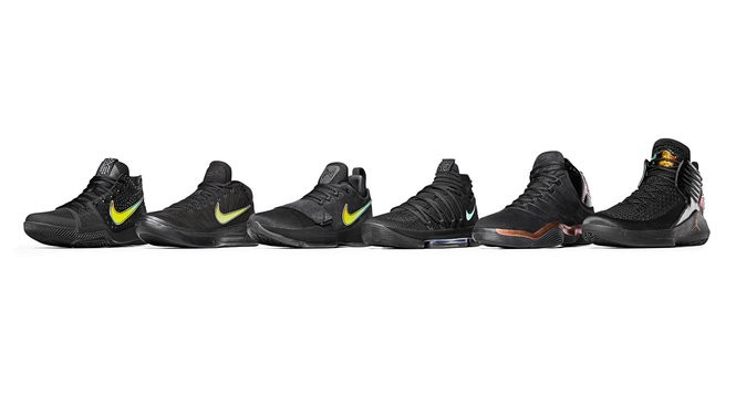A look at the shoes teams will be wearing at next week's Phil Knight Invitational