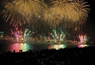 A huge fireworks display will light up the sky above the Detroit River on June 26.