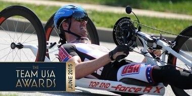 Bay City native Brian Sheridan competes in para-cycling with Team USA.(courtesy photo)