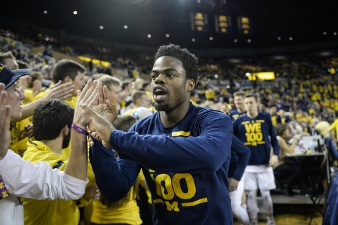Michigan point guard Derrick Walton Jr. is entering his final season at Michigan.