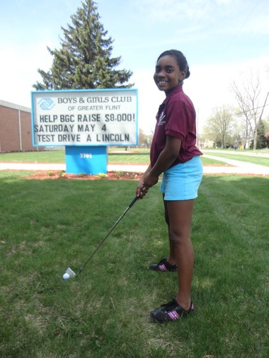 CBS Sports will feature 9-year-old Journei Daniels' motivational tale in a documentary-style profile during the final day of the Wells Fargo PGA Championship in the special 'Beyond the Green: Transforming Lives through Golf.' It will be shown between 2:30-3 p.m. on Sunday, May 5. Daniels is a member of the Boys & Girls Club of Greater Flint.