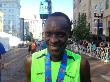 Julius Kogo, of Kenya, won his fourth-straight Crim 10-mile title at the 37th annual HealthPlus Crim Festival of Races Saturday, Aug. 24 in Flint.