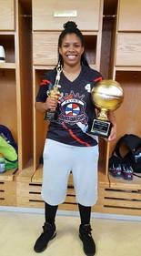 Flint Monarchs guard Arlesia Morse was named Finals MVP of the GWBA.