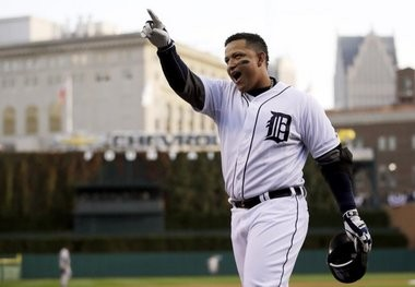 Detroit's Miguel Cabrera won the AL MVP and Triple Crown in 2012.