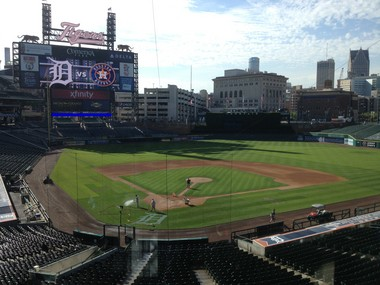 Could Comerica Park be the site of a new college football ball game in 2014?