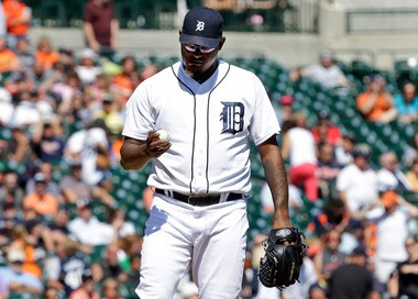 Jose Valverde allowed four runs on five hits Wednesday in a mop-up situation against the Baltirmore Orioles.