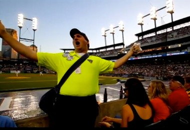 "Charley Marcuse, widely recognized inside Comerica Park as the ""Singing Hot Dog Man,"" has been fired, he posted on Twitter."