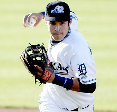 Eugenio Suarez is a shortstop prospect the Tigers are high on.