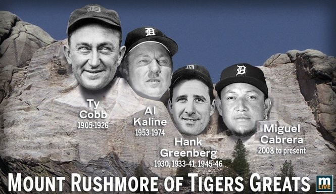 18274a2e Who made it onto the Mount Rushmore of Detroit Tiger greats -- and who was  left off