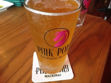 The Pink Pony Ale brewed by Mountain Town Brewery has been a big seller at the Pink Pony Bar and Grill.