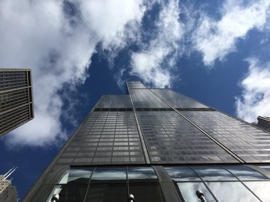 The Willis Tower is the tallest building in the Western Hemisphere, but you can get almost to the top if you want to wait and pay for it, with cash if not a queasy stomach. (K.D. Norris/MLive.com)
