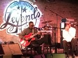 A great time to go to Buddy Guy's Legends blues club is for weekday afternoon acoustic blues - no cover, reasonably priced beer and great barbecue lunch. Shown is Harmonica Hinds backed by Eddie Taylor Jr. on guitar. (K.D. Norris/MLive.com)