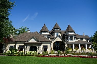 One of the more high-end homes on the north end of Boblo Island, Ontario. (Emily Rose Bennett | MLive.com)