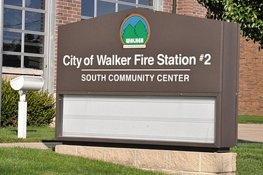 Walker Fire Station No. 2, 4101 Lake Michigan Drive in Standale, is one of the sites of public meetings hosted by Tthe Rapid on Thursday. By Jeffrey Cunningham|Mlive.com