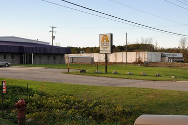 Randy Perrin has bought the former GregWare building and the West Central Storage building in Alpine Township.