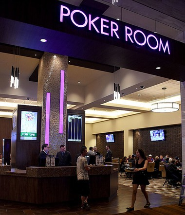 The new poker room at the Gun Lake Casino offers a variety of traditional poker games, including Omaha, Texas Hold 'Em, and many others.Brian Forde | MLive.com