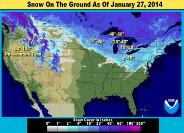 Mile for mile, Michigan has more snow cover than any other U.S. state.