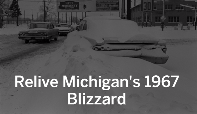 Michigan's 1967 Blizzard stories and facts that will leave