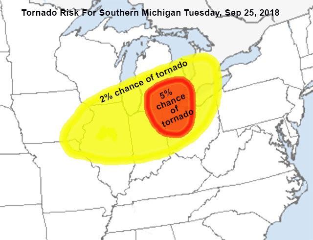 Tornado risk increasing late today for Detroit, Ann Arbor ...