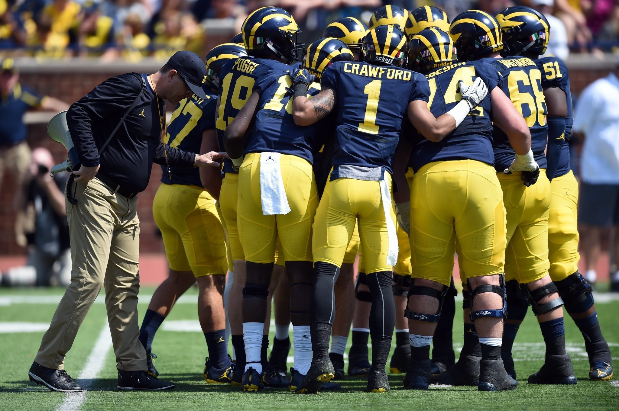 2017 Michigan Football Schedule And Results Mlive Com