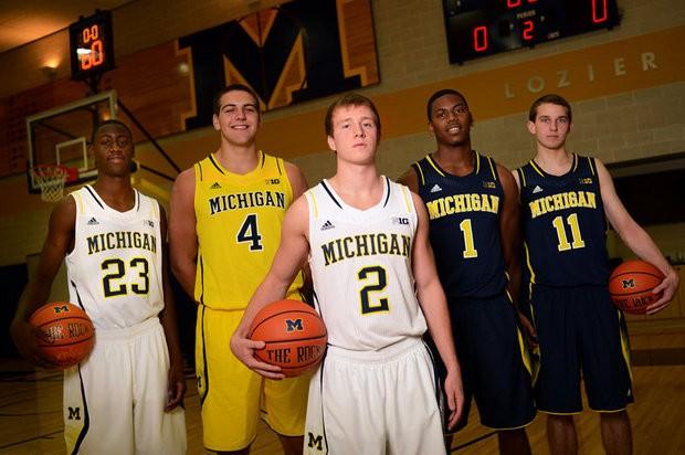 b689ebdce1c Michigan Basketball Gameday  Hello