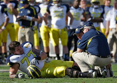 Michigan's All-American left tackle Taylor Lewan turned down the NFL, but was it too risky?