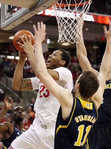 Michigan's five freshmen got their welcome to the Big Ten moment Sunday at Ohio State. But John Beilein's not exactly discouraged.