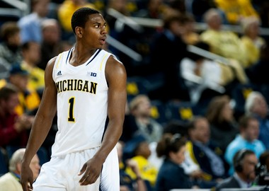 Michigan freshman forward Glenn Robinson III was recruited by Purdue -- his father's alma mater -- but the Boilermakers eventually ran out of scholarships, leading him to Ann Arbor.