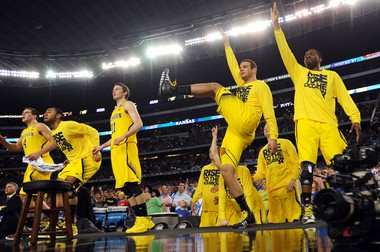 Michigan is finding various ways to stay loose. However unconventional, it's working as the Wolverines move on to the Elite Eight.