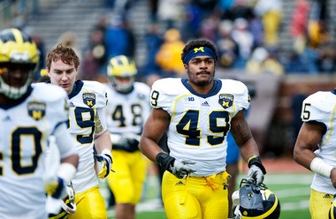Linebacker Kaleb Ringer has left the Michigan program before ever playing a game for the Wolverines.