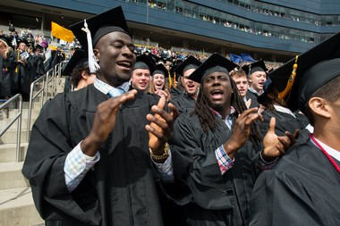 Michigan junior quarterback Devin Gardner, left, already has graduated and could be an NFL prospect in 2014 if he has another big season.