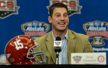 Michigan has reportedly hired Alabama offensive coordinator Doug Nussmeier.