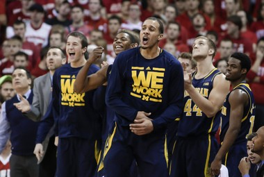Michigan's win over No. 3 Wisconsin on Saturday was the program's top-rated road victory in its history.