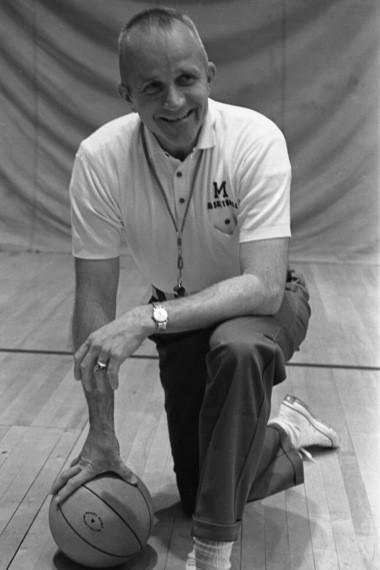 Former Michigan head basketball coach Dave Strack
