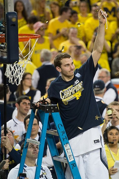Nik Stauskas picked up an All-America honor from the Sporting News on Monday.