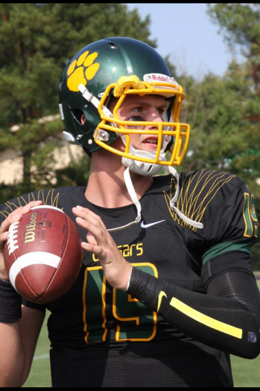 Michigan quarterback Wilton Speight, shown during his high school days at The Collegiate School, is impressing during his first couple weeks with the Wolverines.