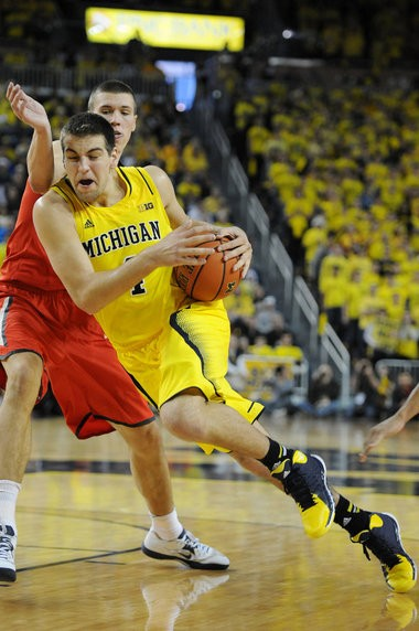 Michigan forward Mitch McGary appeared in eight games in 2013-14, making four starts, and averaged 9.5 points and 8.3 rebounds per game.