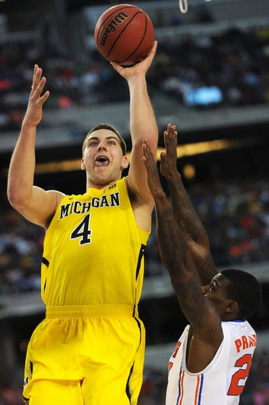 Mitch McGary in the 2013 NCAA tournament.