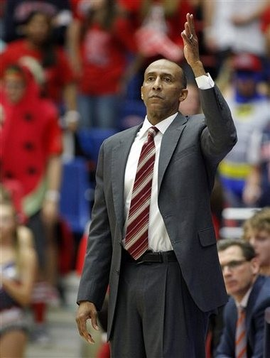 Johnny Dawkins holds a 117-87 record in six seasons as Stanford head coach.